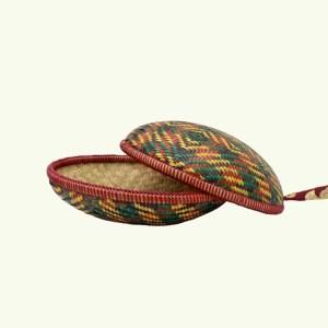 Bhutanese handicraft - cane basket 001 4