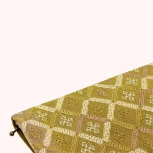 Natural dyed silk clutch by Kelzang Textiles - 1