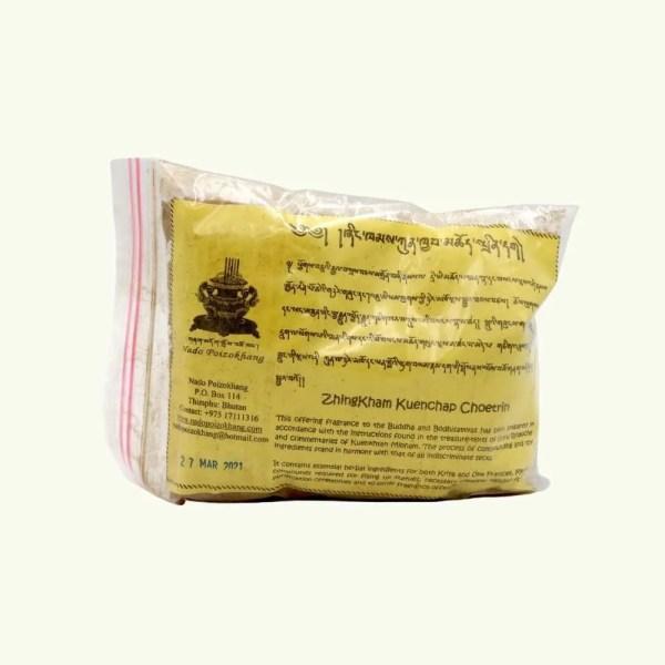 Zhingkham Kuenchap Choetrin Sang Incense Powder 1