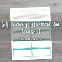 Self-Discovery Worksheet