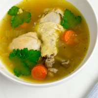 My Bahamian Chicken Souse