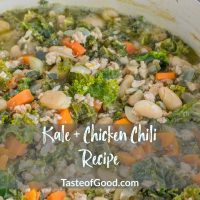Kale Chicken Chili