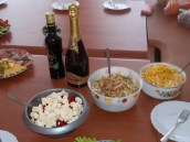 Moldovan's love salads (and sparkling wine)