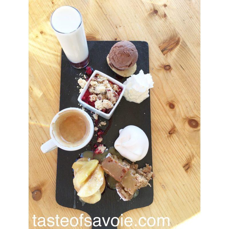 Le Café Gourmand - every dessert is home made