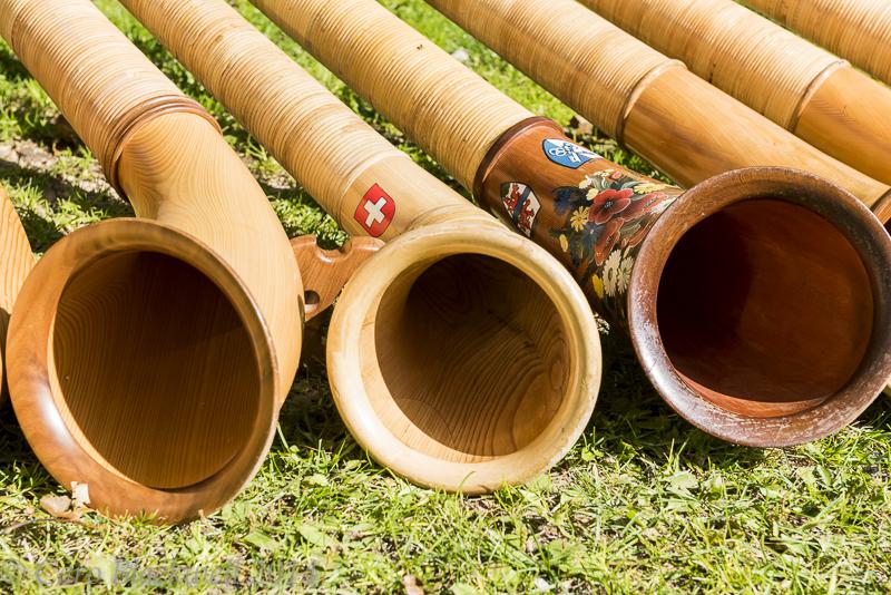 Alphorns - A traditional Swiss instrument