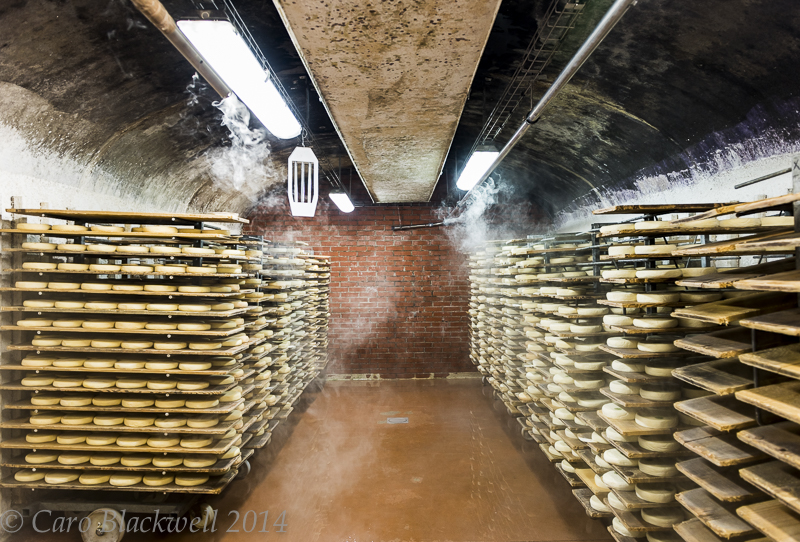 Joseph Paccard Caves - refining reblochon