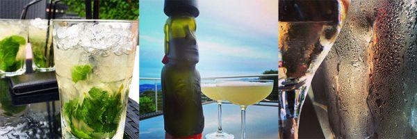Mojitos, Pisco Sour, Champagne