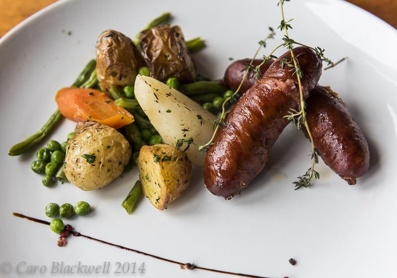 Le diots - a local Savoyard sausage