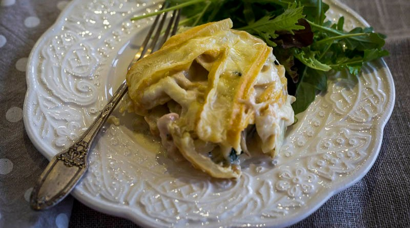 Smoked Salmon Tartiflette - from Taste of Savoie
