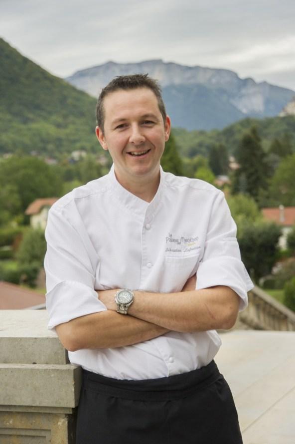 Sébastien Lefortier chef de Cuisine - Palace de Menthon