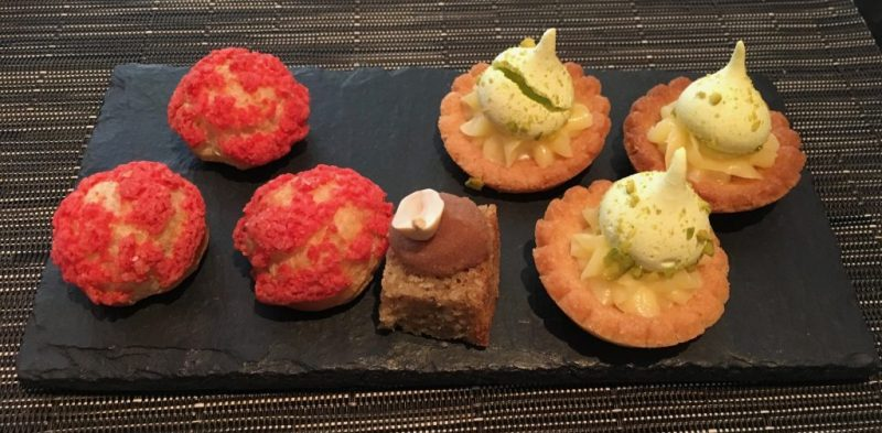 Petit Fours served with coffee
