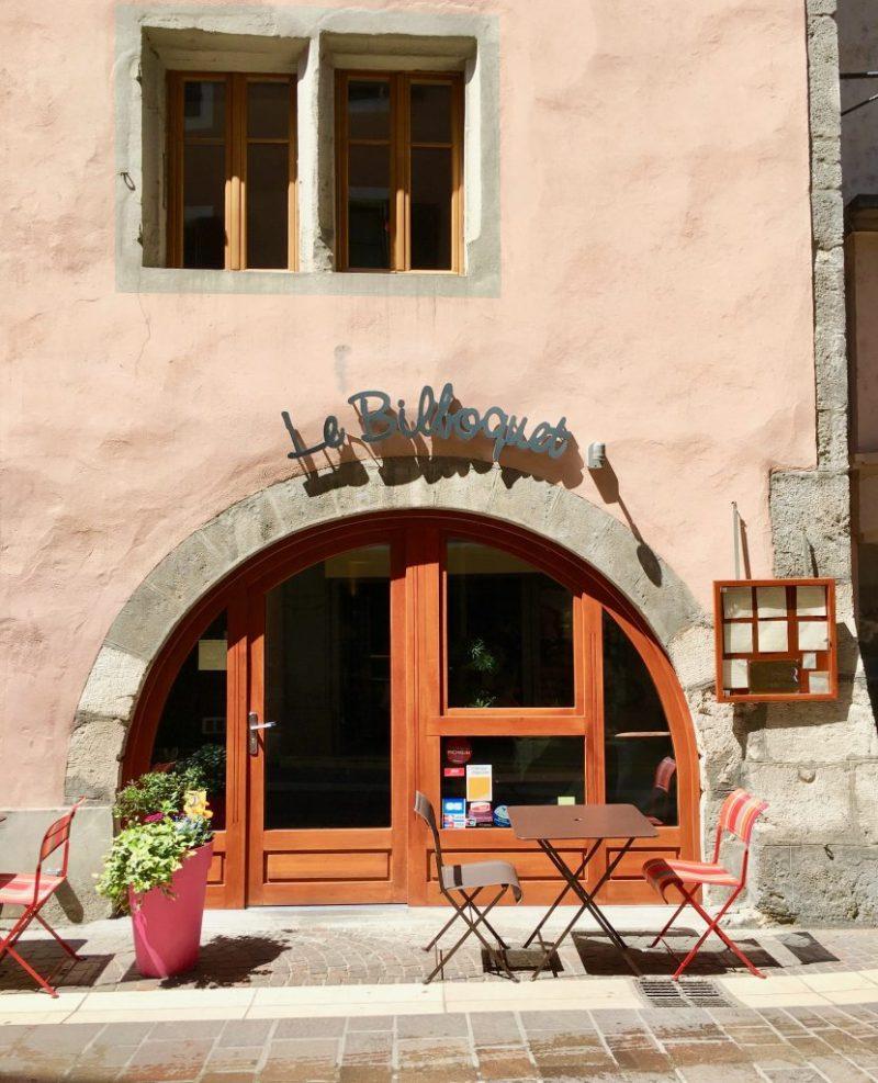 Le Bilboquet restaurant Annecy, Haute Savoie