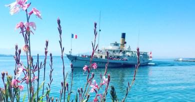 SS Vevey on Lac Leman