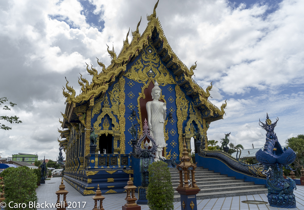 The Blue Temple in Chiang Rai - Taste of Savoie Travels