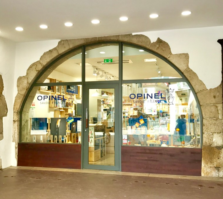 The Opinel Boutique in Annecy