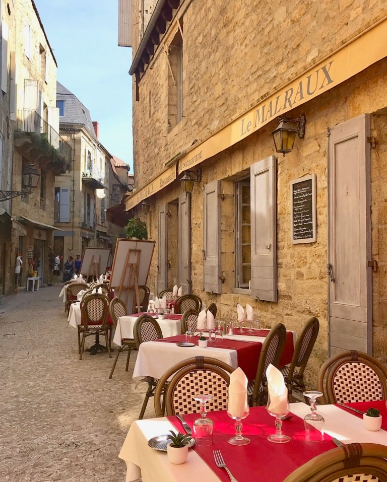 One of the many wonderful streets  in Sarlat