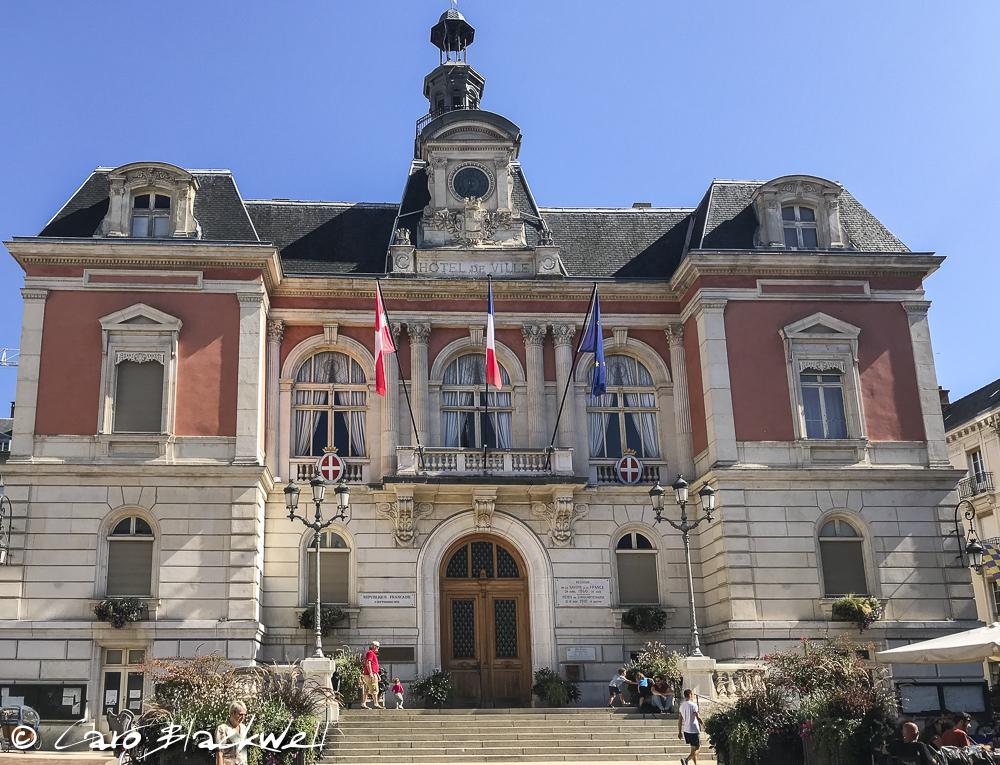 The Hotel de Ville, Chambery