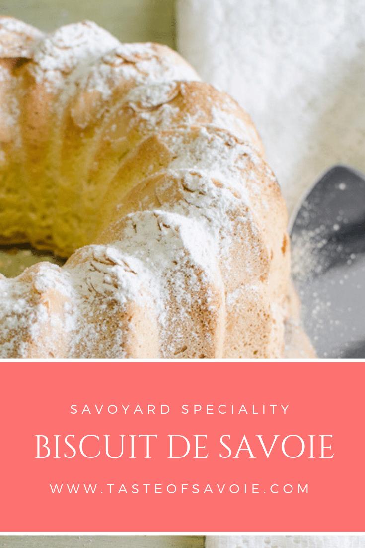 Biscuit de Savoie - Taste of Savoie
