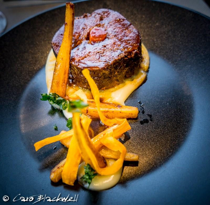 Paleron de Bœuf at Le Viu Restaurant, Palace de Menthon