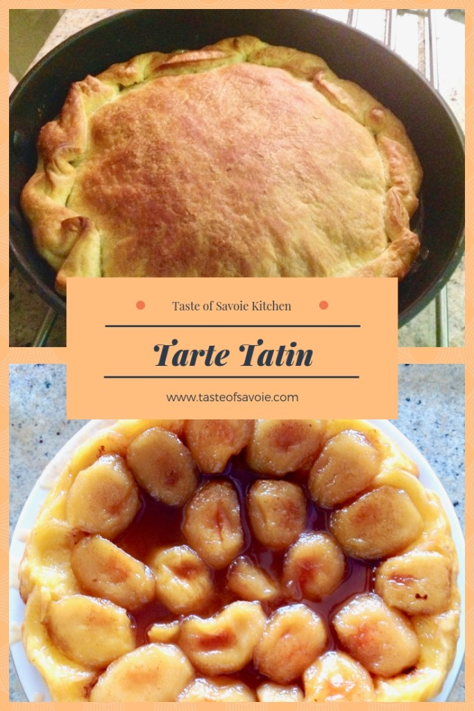 Tarte Tatin from the Taste of Savoie Kitchen