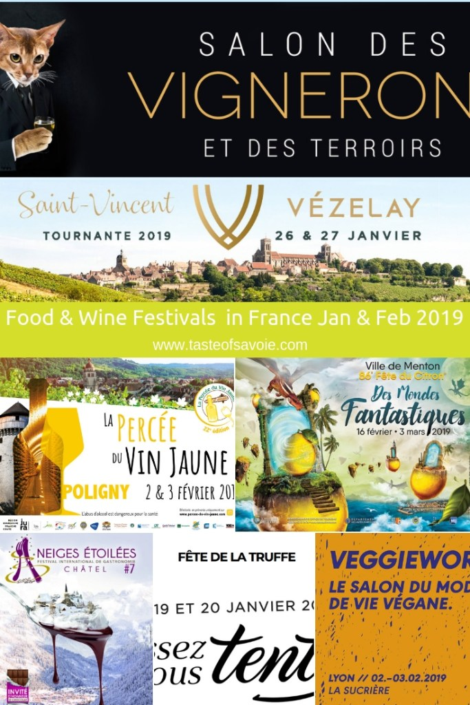 Pin for later - Food & Wine Festivals and Events in France