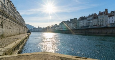 River Doubs in Besancon - Taste of Savoie