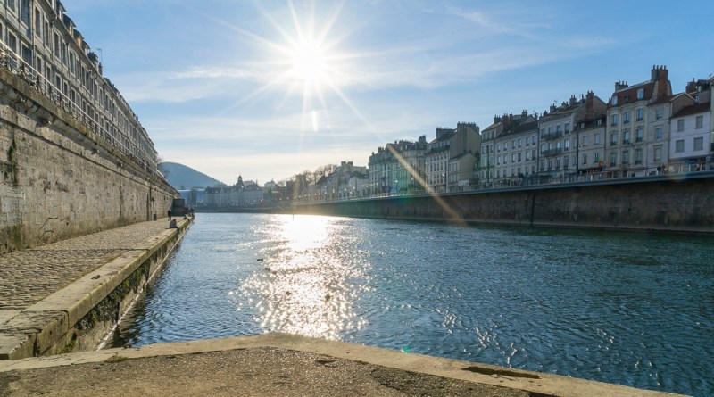 River Doubs in Besancon - Taste of Savoie