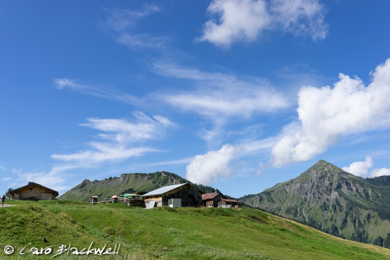 Auberge de Freterolles, Hiking from Lac Mines d'Or, Morzine