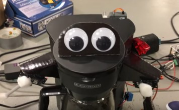 Alexa big mouth smotani robot za kafu
