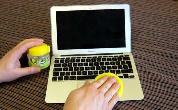 Kako ocistiti tastaturu