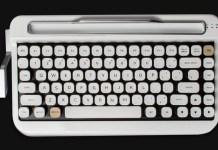 penna bluetooh retro tastatura