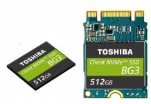 3D flash NVMe SSD toshiba