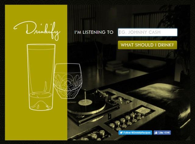 drinkify website