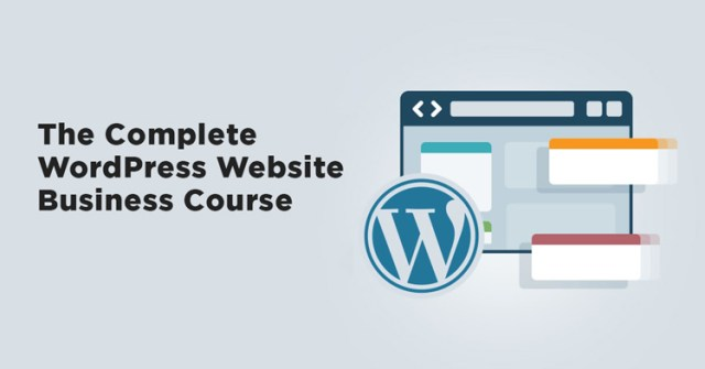 kurs web dizajna complete wordpress website business course