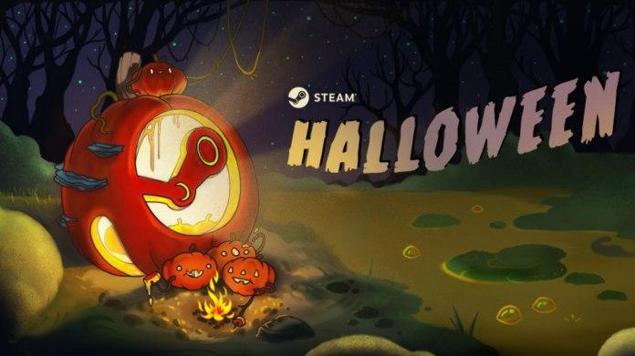 steam halloween