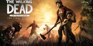 the walking dead season final