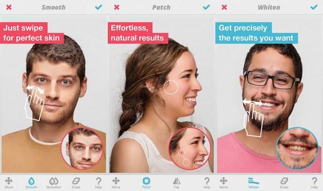 facetune - aplikacija za savrsen selfie