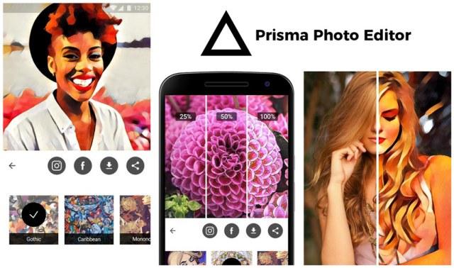 prisma foto editor