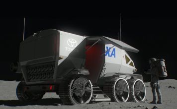 toyotin rover za mjesec