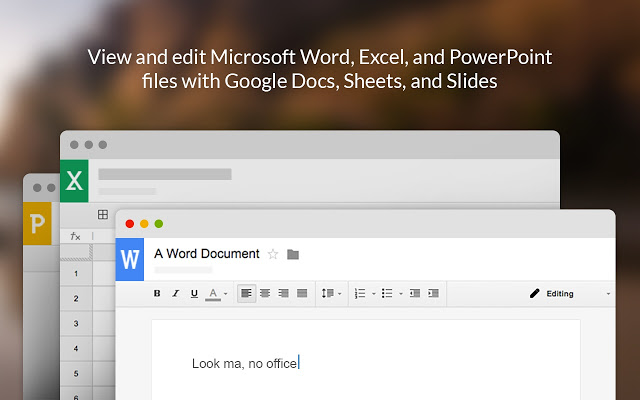 office editing chrome extension