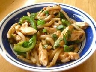 Peanut Udon Noodle Bowls