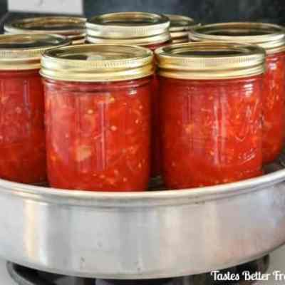 How to make Canned Tomatoes