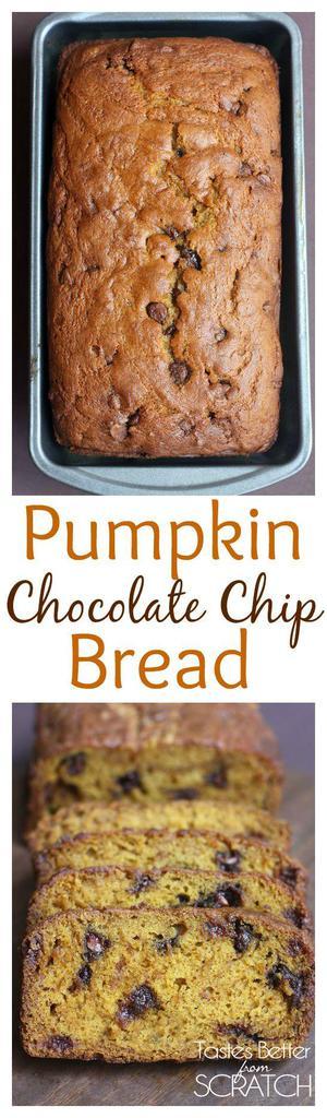 The BEST Pumpkin Bread recipe EVER!! Recipe on TastesBetterFromScratch.com