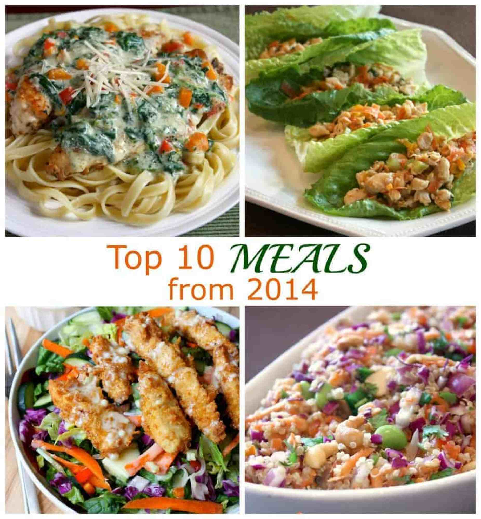 Top 10 Meals from 2014