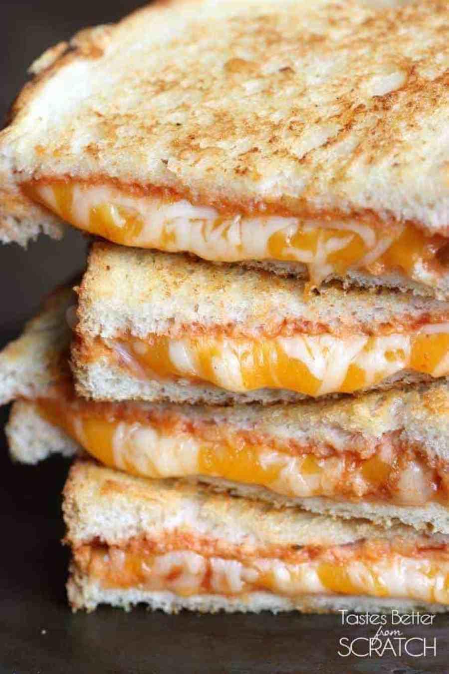 Italian Grilled Cheese recipe on TastesBetterFromScratch.com