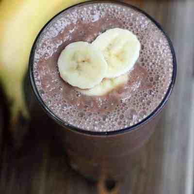 Chocolate Oat Breakfast Drink