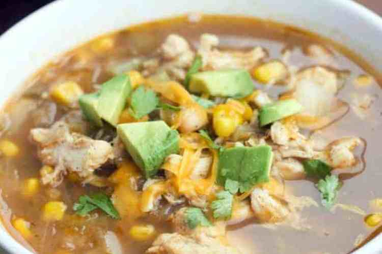 Chile Verde Soup (Slow Cooker or Stove Top)