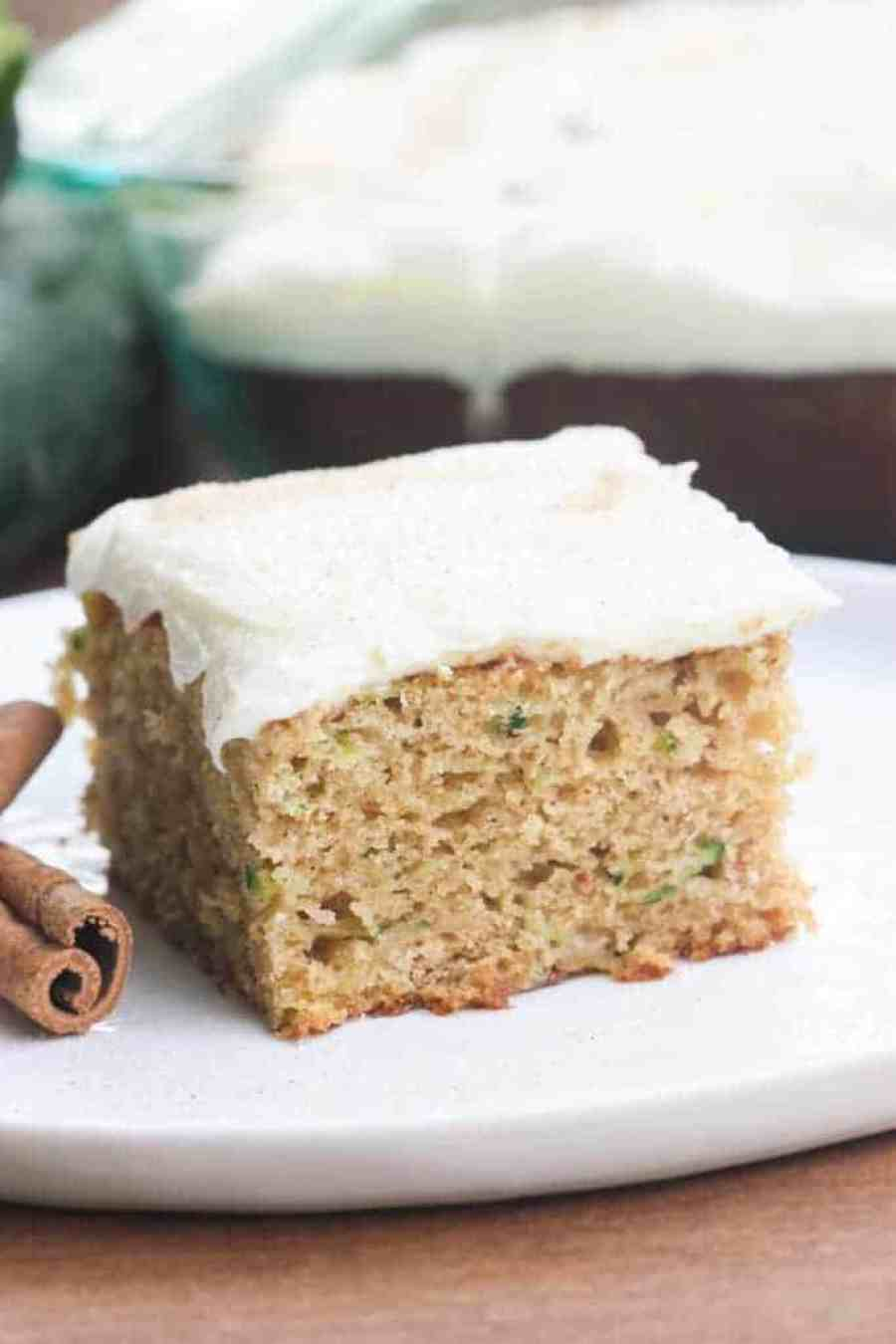 Zucchini Cake with Cream Cheese Frosting | Tastes Better From Scratch