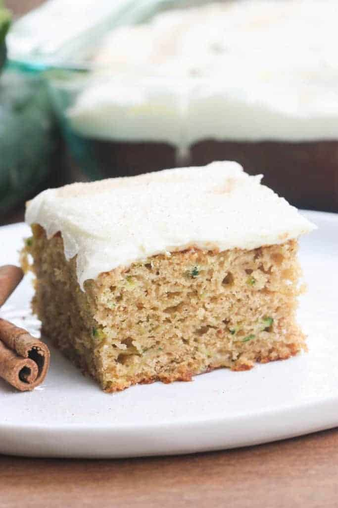 Zucchini Cake With Cream Cheese Frosting Tastes Better