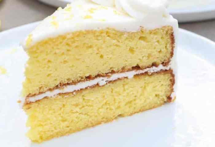 Lemon Cake Tastes Better From Scratch